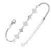 Ezüst karkötő cirkóniával (ES1216)