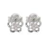 Ezüst fülbevaló cirkóniával (ES713)