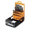 Beta 410AS/SP21 Rövid csigafúró szerszám készlet kofferban