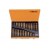 Beta 414/C116 Rövid csigafúró szerszám készlet kofferban
