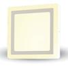 CR80 LED panel (négyzet, oldalvil.) 6+2 Watt - meleg fényű