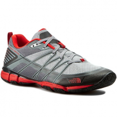 The North Face Félcipő THE NORTH FACE - Litewave Ampere T0CXT9GRR-085 Monument Grey/Fiery Red