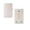 LG G Pad 7.0, bőrtok, mappa tok, fehér