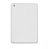 Apple iPad Mini, Telefondísz matrica (hátsó, karbon minta) fehér