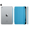 Apple iPad Mini 4, mappa tok, Smart Cover, kék, gyári, MKM12ZM/A
