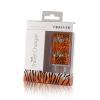 Hálózati töltő adapter, USB, 1000mAh, tigris mintás