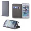 Samsung Galaxy Grand Prime SM-G530, Oldalra nyíló tok, stand, Smart Magnet, steel