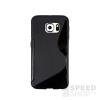 utángyártott Samsung G935 Galaxy S7 Edge szilikon tok S-line, fekete