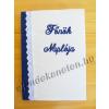 Notesz vajszínű betéten hímzett FŐNÖK NAPLÓJA felirattal