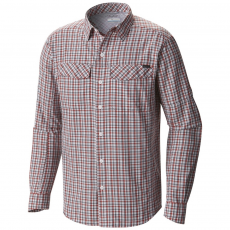 Columbia Silver Ridge Plaid Long Sleeve Shirt Ing D (1441321-o_845-Super Sonic)
