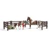Schleich Trakehneni ló etetőállás Schleich