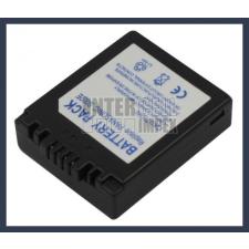Panasonic CGA-S002A 7.2V 900mAh utángyártott Lithium-Ion kamera/fényképezőgép akku/akkumulátor digitális fényképező akkumulátor