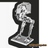 Fascinations Metal Earth Star Wars AT-ST droid
