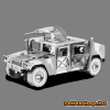 Fascinations Metal Earth ICONX Humvee