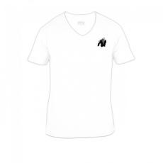 Gorilla Wear Essential V-Neck T-Shirt - White