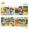 Learning Resources ZARO a szabadban puzzle - 4 db