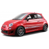 BBurago 1:18 Diamond Fiat 500 Abarth (2008) Piros