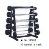 m-tech (H) X100611 Tárolóállvány kétkezes fix súlyzórudakhoz