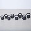 m-tech (H) X100571 Öntöttvas kettlebell gumi talppal, 28 kg