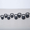 m-tech (H) X100571 Öntöttvas kettlebell gumi talppal, 16 kg