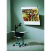 Dönthető fali vetítővászon, 150 x 150 cm