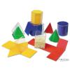 Geometriai testek, felszínek (3D, 2D)