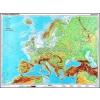 Stiefel Európa, domborzati + vaktérkép DUO ajándék 10 db tanulói munkalap