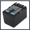 JVC GR-DVL720 7.2V 3400mAh utángyártott Lithium-Ion kamera/fényképezőgép akku/akkumulátor