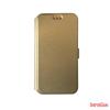 CELLECT LG C50 Leon Flip oldalra nyiló tok,Arany