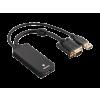 Hama VGA HDMI adapter+USB (audio) (54547)