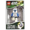 LEGO LGL-KE42-LEGO Kulcstartó-Captain Rex világító kulcstartó