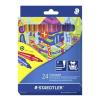 STAEDTLER Rostirón készlet, 1 mm, STAEDTLER, 24 különböző szín (TS325C24)