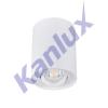 KANLUX BORD DLP-50-W Prisadené bodové svietidlo- 22551
