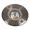 Schrack Technik LID13211   TERRA Inground spot kerek, GU10, 35W, IP67, aluminium