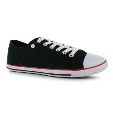 pic_31904_AS148458.jpg Dunlop fekete női vászoncipő 35.5 RAKTÁR