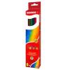 """KORES Színes ceruza készlet, hatszögletű, KORES """"Hexagonal"""", 6 különböző szín"""