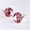 . Fülbevaló, Crystals from SWAROVSKI®, rózsaszín, 8mm