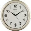 "Secco Falióra, 30 cm, SECCO ""Sweep Second"",ezüst színű keret"