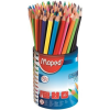 """MAPED Színes ceruza készlet, háromszögletű, ceruzatartó, MAPED """"Color\´Peps """""""