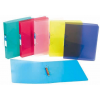 """VIQUEL Gyűrűs dosszié, 2 gyűrű, 35 mm, A4, maxi, PP, cserélhető címke, VIQUEL """"Propyglass"""", kék"""