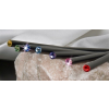 . Ceruza, light siam piros kristállyal, 17,5cm, Crystals from SWAROVSKI®, fekete