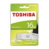 "Toshiba Pendrive, 16GB, USB 2.0, 18/5MB/sec, TOSHIBA ""HAYABUSA"", fehér"