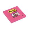 "3M POSTIT Öntapadó jegyzettömb, 76x76 mm, 90 lap, 3M POSTIT ""Super Sticky"", pink"