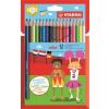 """STABILO Színes ceruza készlet, hatszögletű, STABILO """"Color"""", 18 különböző szín"""