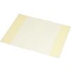 PANTA PLAST Füzet- és könyvborító, A4, PP, 80 mikron, narancsos felület, PANTA PLAST, sárga