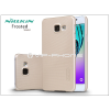 Nillkin Samsung A310F Galaxy A3 (2016) hátlap képernyővédő fóliával - Nillkin Frosted Shield - golden