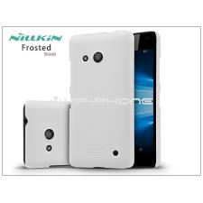 Microsoft Lumia 550 hátlap képernyővédő fóliával - Nillkin Frosted Shield - fehér tok és táska