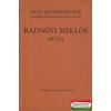 Szépirodalmi Könyvkiadó Radnóti Miklós művei