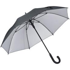 FERRAGHINI esernyõ (selyem), fekete (Ferraghini automata esernyõ, kiváló minõségû Pongee anyagból,)