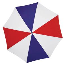 Favázas automata esernyõ, navy/piros (Favázas automata esernyõ hajlított fa fogantyúval és fa)